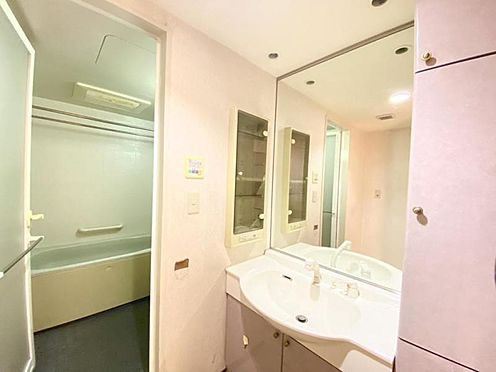 中古マンション-豊田市日南町5丁目 収納豊富な洗面室。煩雑になりがちな洗面周りもスッキリ収納♪