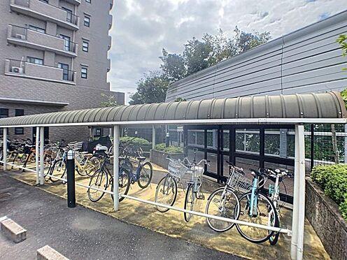 中古マンション-名古屋市守山区緑ヶ丘 余裕のある駐輪場