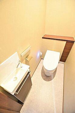 中古一戸建て-仙台市若林区なないろの里2丁目 トイレ