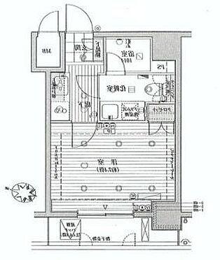 マンション(建物一部)-新宿区西新宿8丁目 間取り