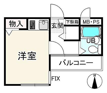 マンション(建物一部)-京都市中京区三条大宮町 間取り