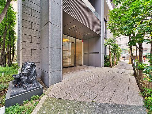 中古マンション-品川区西五反田3丁目 緑溢れた高級感あるエントランス