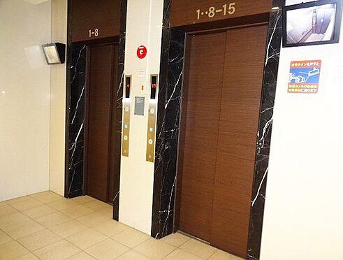 マンション(建物一部)-大阪市淀川区西宮原1丁目 防犯カメラ付きのエレベーター