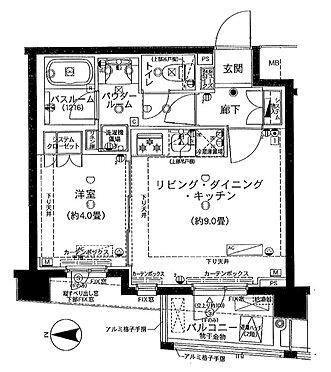 マンション(建物一部)-杉並区高井戸東3丁目 間取り