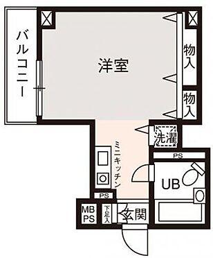 マンション(建物一部)-大阪市西淀川区姫島2丁目 使い勝手の良い1R