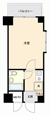 区分マンション-横須賀市安浦町 間取り