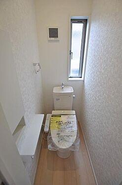 新築一戸建て-東松島市あおい1丁目 トイレ
