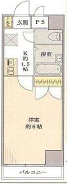 マンション(建物一部)-千代田区飯田橋2丁目 間取り