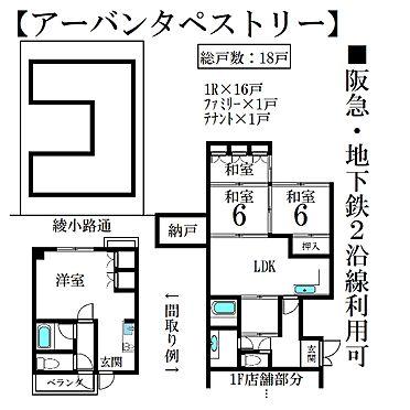 マンション(建物全部)-京都市下京区矢田町 間取り