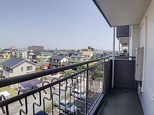 中古マンション-豊田市山之手2丁目 2面バルコニーです!陽当り、風通し良好です♪