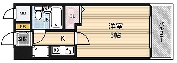 マンション(建物一部)-大阪市福島区野田3丁目 室内に洗濯機が置けます