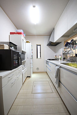 建物全部その他-八王子市川口町 収納スペースもたっぷり確保されたキッチン