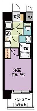 マンション(建物一部)-大阪市天王寺区国分町 間取り