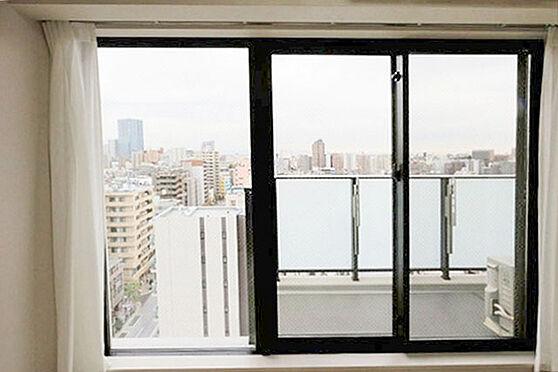 区分マンション-新宿区西早稲田3丁目 洋室からの眺望(昼)