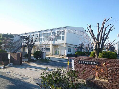 土地-豊田市住吉町前邸 竜神中学校まで徒歩約26分(約2045m)