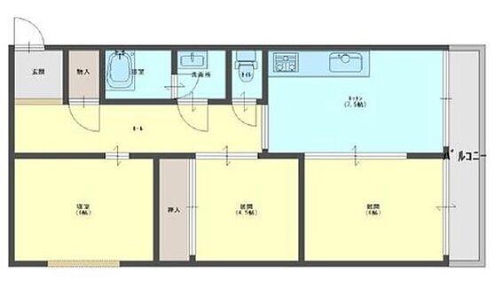 マンション(建物一部)-大阪市東成区大今里西2丁目 ファミリー向けの3LDK