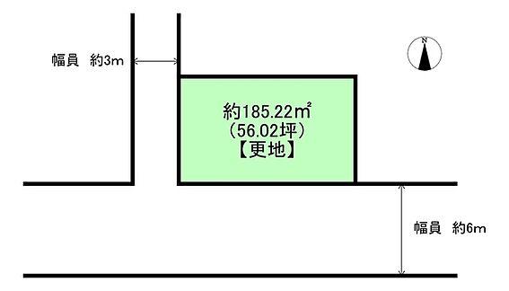 土地-吹田市千里丘西 区画図