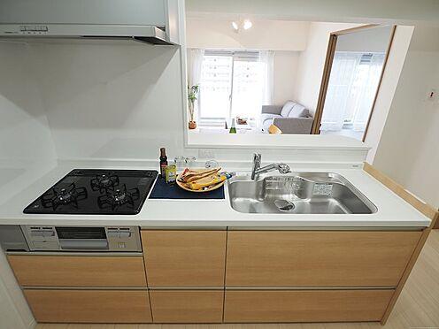中古マンション-千葉市美浜区真砂2丁目 システムキッチンです!