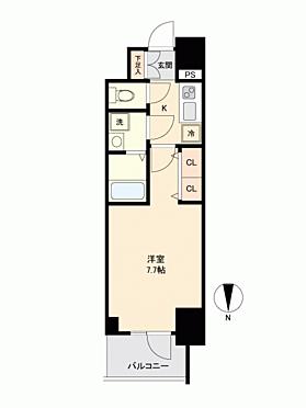 区分マンション-大阪市西区立売堀3丁目 間取り