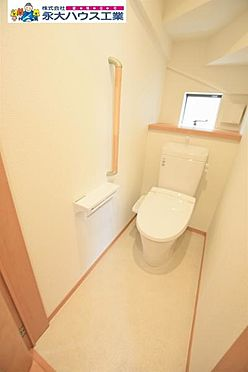 戸建賃貸-仙台市太白区袋原3丁目 トイレ