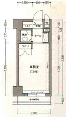事務所(建物一部)-堺市堺区宿院町西3丁 クローゼットやシューズボックスあり