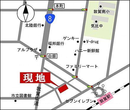 マンション(建物一部)-敦賀市鉄輪町1丁目 地図