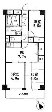 マンション(建物一部)-江東区越中島1丁目 間取り