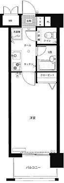 マンション(建物一部)-福岡市中央区白金2丁目 間取り