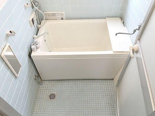 マンション(建物一部)-松戸市松戸 【浴室】追炊き機能付きの浴室なので、いつでも好きな時に入浴出来ますね!