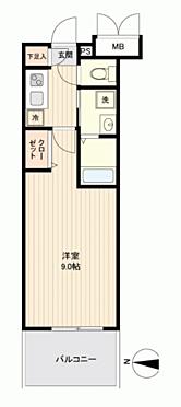 中古マンション-名古屋市中区千代田2丁目 間取り