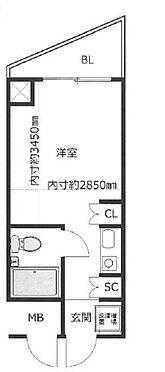 マンション(建物一部)-尼崎市東塚口町1丁目 間取り