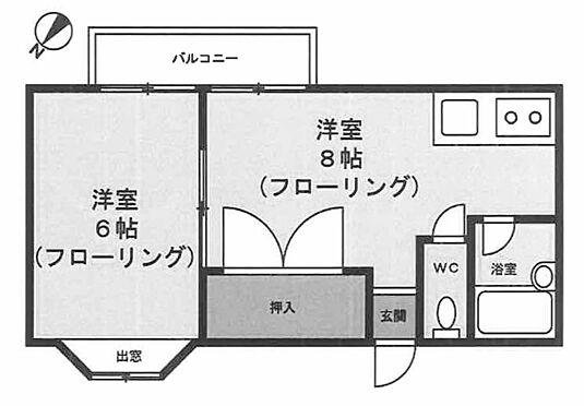 アパート-横浜市鶴見区獅子ケ谷1丁目 間取り
