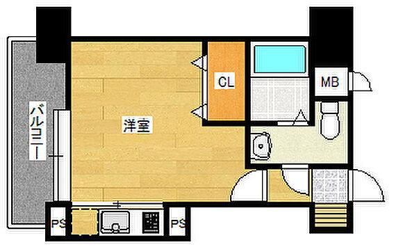 マンション(建物一部)-福岡市南区大楠1丁目 間取り
