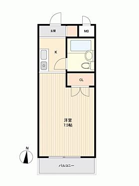 マンション(建物一部)-神戸市灘区烏帽子町2丁目 間取り