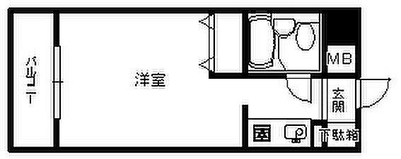 中古マンション-福岡市中央区今泉2丁目 間取り