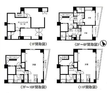 マンション(建物全部)-中央区日本橋茅場町2丁目 間取り
