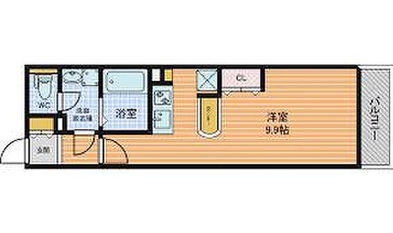 区分マンション-大阪市中央区南久宝寺町1丁目 間取り