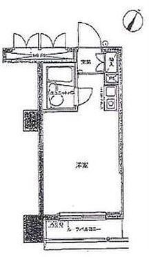 マンション(建物一部)-横浜市中区千歳町 間取り