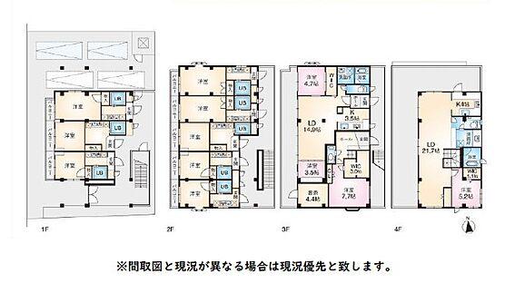 マンション(建物全部)-新宿区西早稲田2丁目 間取り