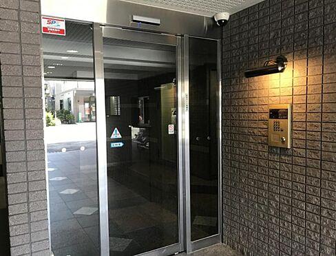 マンション(建物一部)-京都市上京区西船橋町 オートロック付きのエントランス
