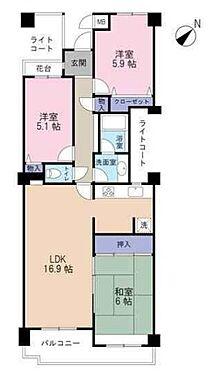 マンション(建物一部)-神戸市北区大脇台 間取り