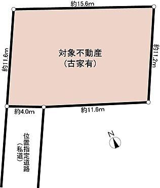 土地-町田市森野4丁目 区画図