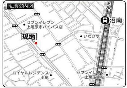 ビル(建物全部)-上尾市大字原市 地図
