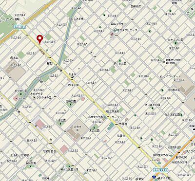 アパート-旭川市末広六条4丁目 地図