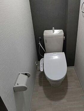 区分マンション-大阪市北区同心2丁目 トイレ