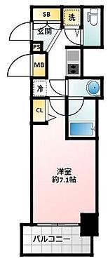 マンション(建物一部)-大阪市城東区今福西1丁目 間取り