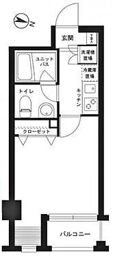 中古マンション-世田谷区用賀4丁目 間取り