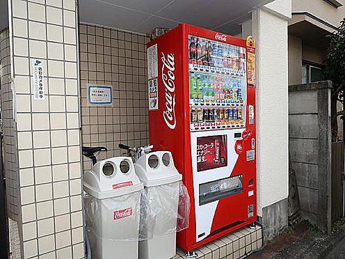 中古マンション-八王子市南新町 マンション入口に自動販売機があります♪