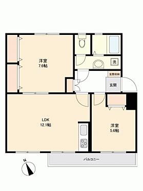マンション(建物一部)-横浜市緑区竹山1丁目 間取り