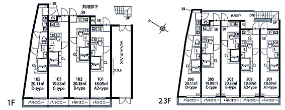 アパート-大田区大森東2丁目 間取り